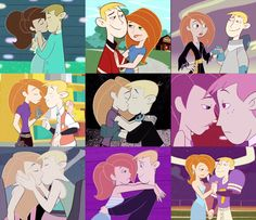 Kim Possible And Ron, Kim And Ron, Animated Cartoon Characters, Cartoon Movies, Disney And More, Disney Love, Kim Possible Characters, Most Popular Cartoons, Cartoon Ships
