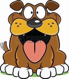 Image result for big mouth dog cartoon