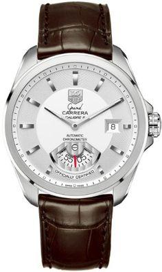 TAG Heuer Men's WAV511B.FC6230 Grand Carrera Automatic Watch: Watches: Amazon.com