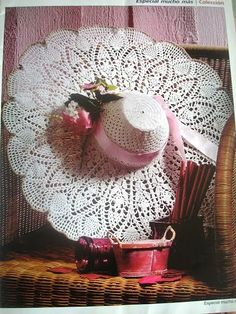 Crochet Summer Hats -- with charts