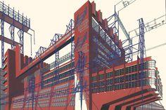 Yakov Chernikhov-Constructivism