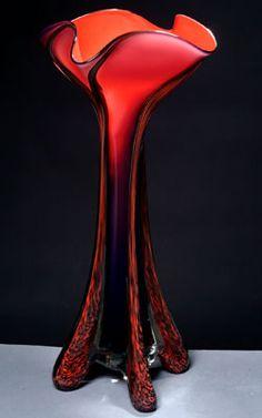 Tropical Vase, Bonfire | by ED BRANSON