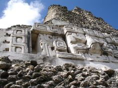 Xunantunich Glyphs, Belize Central America, South America, Places To See, Places Ive Been, Living In Belize, Ancient Astronomy, Mayan History, Belize City, Tikal