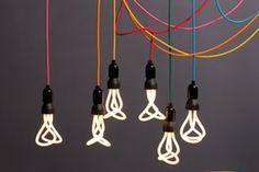 beautiful Plumen lightbulbs