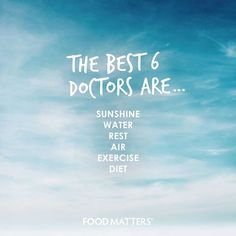 Our most favorite doctors in the world! www.foodmatters.tv