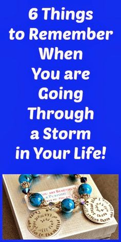 ChariT's Inspirational Creations: 6 Things to Remember When You are In the Midst of a Storm
