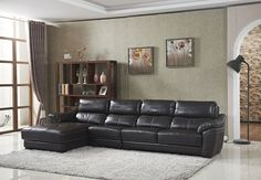 Luxury Furniture Set Genuine Leather Sofas For Living Room Modern Sofa Loveseat Chair Chesterfield Genuine Leather Sofa, Modern Leather Sofa, Modern Sofa, Living Room Modern, Living Room Sofa, Living Room Designs, Leather Sofas, Luxury Furniture, Furniture Sets