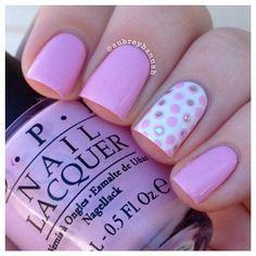 pink & polka dots