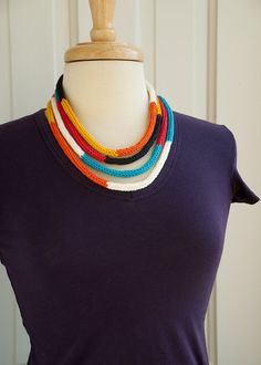 https://www.etsy.com/listing/91606331/knit-color-block-cord-necklace-long-loop?utm_source=Pinterest