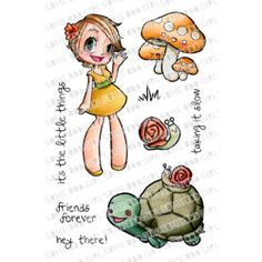 """SOME ODD GIRL Clear Stamps - HEY KAYLEE, 4""""x6"""""""