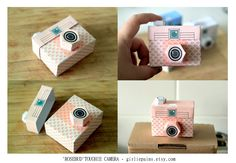 Printable SPECIAL - - 4 TOUGHIE Cameras - Printable Paper Craft PDF file (includes all 4 colours). $4.00, via Etsy.