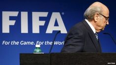 June 2, 2015 - Fifa president Sepp Blatter is being investigated by US officials as part of their inquiry into corruption at the world football body, US media say. The news came hours after Mr Blatter announced that he was stepping down from his role. US prosecutors launched a criminal inquiry last week, with seven Fifa officials arrested in Switzerland, part of a group of 14 people indicted. Two days after the arrests, Mr Blatter was re-elected president of Fifa.