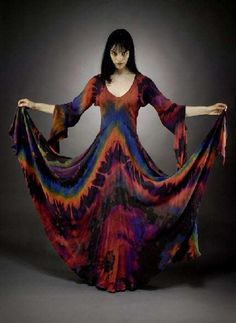 Peace Love & Tie Dye Bohemian Tie-Dyed Fashion