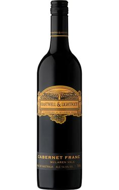 Hastwell & Lightfoot Cabernet Franc 2016 McLaren Vale #HastwellandLightfootWines #CabernetFranc #wine #Australia #Justwines (Click for tasting notes) Wine Australia, Whiskey Bottle, Wines, Bottles