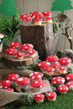 Image result for wonderland cupcakes mushrooms