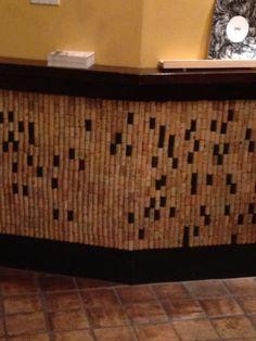 cork wall.
