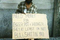 Como lidar com os mendigos de cerveja |