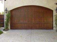Spanish Style Wooden Gates | Iron Gates : Driveway Gates : Garage Door Repair : Custom Wood Gates ...