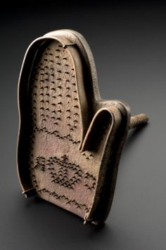 Hand brand, for use on felons or deserters, England, 1642-1649