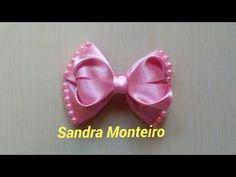 DIY:Flor Encanto,com fita de Cetim|Elessandra Monteiro Lelê Baby V:18 - YouTube