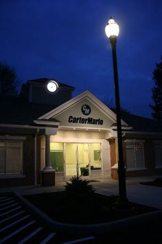 May 1st 2013 - Another view of the new North Haven office at night.