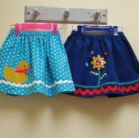 FREE Little Duckie Skirt Pattern - via @Craftsy