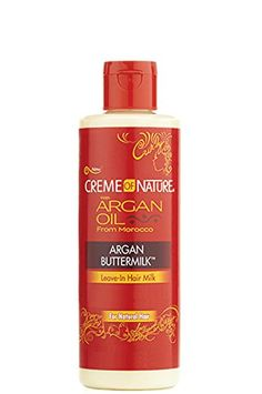Creme of Nature Argan Buttermilk Leave-In Hair Milk 8 oz. (Pack of 2) * Click image to review more details.