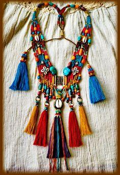 ~ Ethnic Jewelry * My Tribe* ~ # Aow Dusdee # https://www.facebook.com/Aow.Jewelry?fref=ts