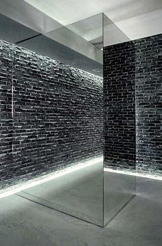 Glass-brick