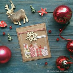 #irina_kutuzova #art_craft #card #merry_christmas #new_year
