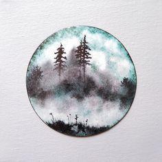 Enamel on copper /émail sur cuivre. Collection The Journey. © ChLoreD