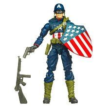 Captain America Movie 4 Inch Series 1 Action Figure Battlefield Captain Ameri -- You can get more details by clicking on the image.