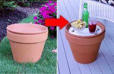 Cómo reciclar un macetero y tener una cosa increíble que todos queremos tener en nuestra casa