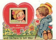 Gingerbread Cottage: Vintage Valentines