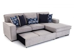Playscape Chaise Sofa With Pop Up Sleeper Living Room