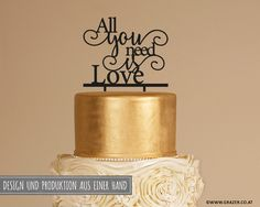 Love Design, All You Need Is Love, Cake Toppers, Place Cards, Place Card Holders, Etsy, Home Decor, Handmade, Hochzeit
