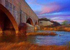 Pecos River Flume - Carlsbad, NM beautiful park area