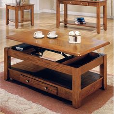 Lift Top Coffee Table Living Room Decorating Ideas With Storage Sofa Table Oak  #Logan