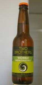 Two Brothers Artisan Brewing - Wobble IPA  6.3% ABV  Warrenville, Illinois