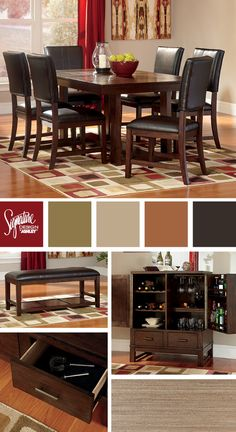 Dine In Comfort And Style Renaburg Dining Room Set