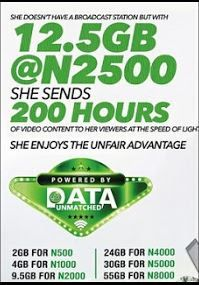 A2satBlog: BamBam: 2GB Data For N500 and lot more as Glo Nige...