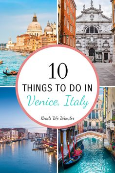 Here are 10 things to do Venice, Italy! These activities are super fun and you won't want to miss them!  #RoadsWeWander Europe Travel Outfits, Europe Travel Guide, Italy Travel, Travel Destinations, Places In Europe, Best Places To Travel, Best Cities, Cities In Italy, Disney World Tips And Tricks