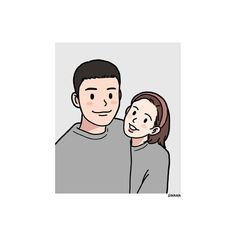 Cute Couple Art, Anime Love Couple, Couple Cartoon, Cartoon Pics, Cartoon Drawings, Cartoon Art, Cute Drawings, Couple Illustration, Character Illustration