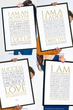 Great as encouraging printable gifts or simply as wall art signs for home or office #inspiring #lifequotes #achievers #achieve #lead #etsyposters #motivationalposters #motivate Printable Designs, Printable Wall Art, Printables, Motivational Posters, Working Woman, Home Signs, Digital Prints, Life Quotes, Inspiration