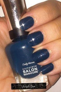 ↔❤↔→ Sally Hansen nail polish in Jungle Gem