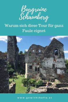 Burgruine Schaunberg, GoWithTheFlo Source by gowiththeflosbg About Me Blog, Places, Holiday, Nature, Kirchen, Travel, Outdoor, Traveling With Children, Hiking Trails