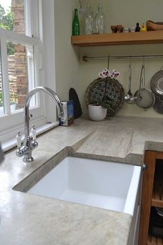 This handmade kitchen in West London was made complete with the addition of our…