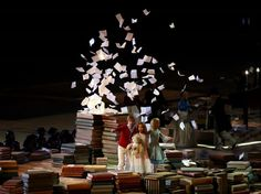 Sochi 2014 - Closing Ceremony Dancers perform a celebration of Russian literature during the 2014 Sochi Winter Olympics Closing Ceremony at Fisht Olympic Stadium Winter Olympics 2014, Russian Literature, Winter Games, Top Photo, Olympic Games, Dancers, Cool Photos, Photo Galleries, Celebration