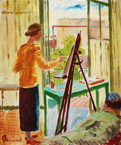 Art Now and Then: Isaac Grunewald