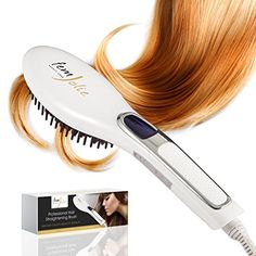 FemJolie Hair Straightening Brush Best for Beauty Styling - 3 in 1 Professional Digital Electric Straightener Comb Styles Silky Look- Premium Heated Ceramic Supplies - Salon Care Thermal Equipment FemJolie http://www.amazon.com/dp/B017ZEOPXG/ref=cm_sw_r_pi_dp_noP.wb1FD6JGG